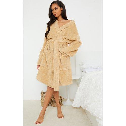 Robe de chambre duveteuse - PrettyLittleThing - Modalova