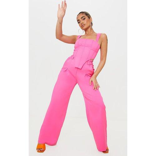 Petite - Pantalon à taille haute élastique - PrettyLittleThing - Modalova