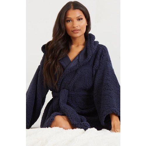 Robe de chambre effet mouton - PrettyLittleThing - Modalova