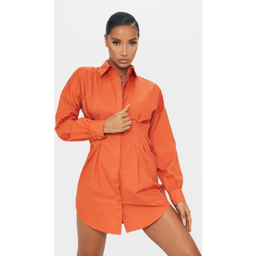 Robe chemise cintrée  - PrettyLittleThing - Modalova