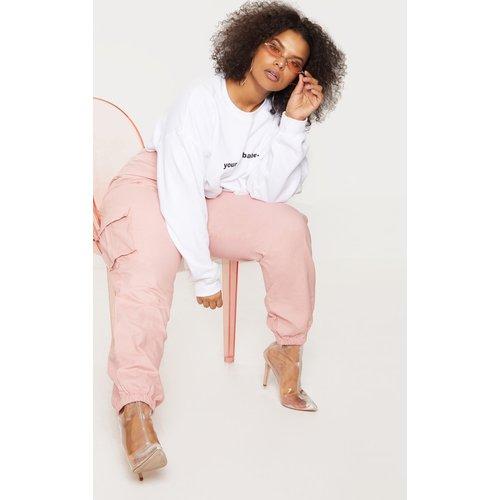 Plus - Pantalon cargo à poches - PrettyLittleThing - Modalova