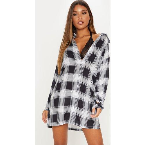 Robe chemise oversized à carreaux - PrettyLittleThing - Modalova