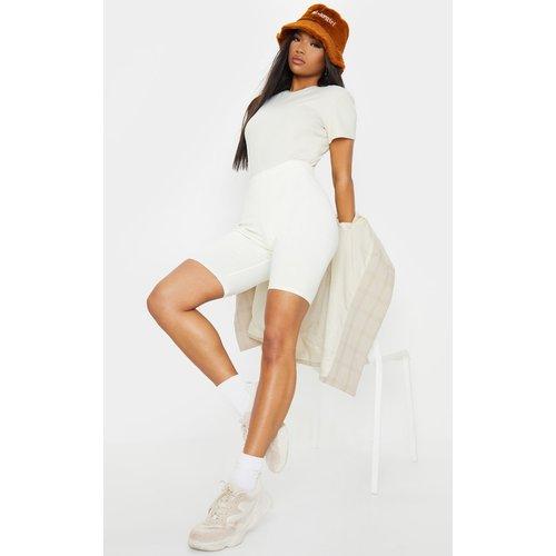 Short legging en coton stretch  - PrettyLittleThing - Modalova