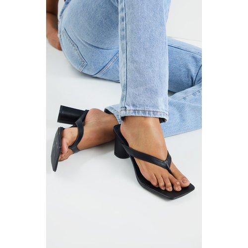 Sandales style tongs à talons très carrés - PrettyLittleThing - Modalova
