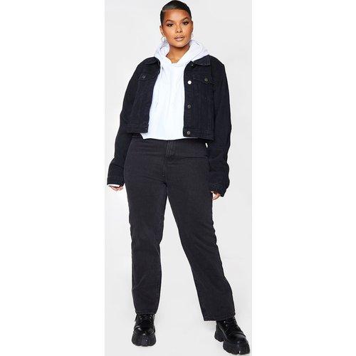 Plus - Veste en jean courte - PrettyLittleThing - Modalova