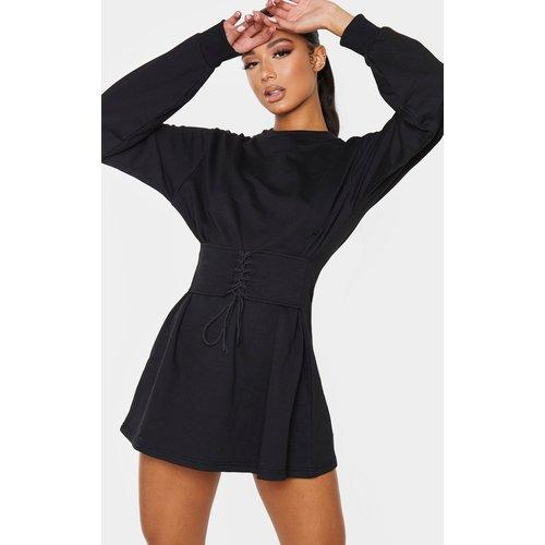 Robe pull à détail corset - PrettyLittleThing - Modalova