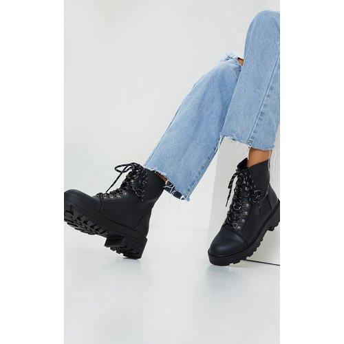 Bottines chunky style randonneur à lacets - PrettyLittleThing - Modalova