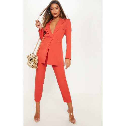 Pantalon de tailleur court - PrettyLittleThing - Modalova