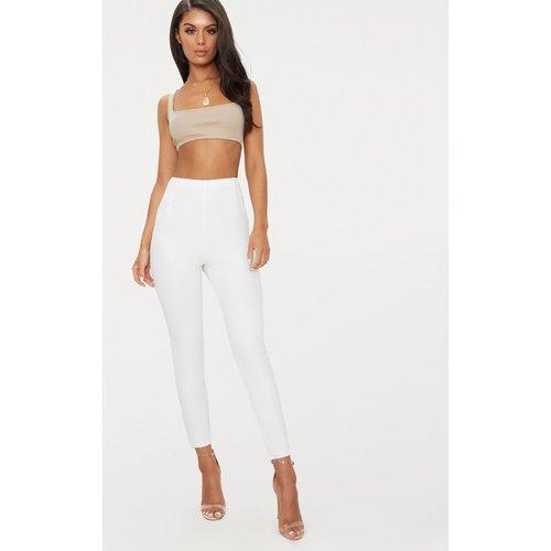 Pantalon taille haute à effet plissé - PrettyLittleThing - Modalova