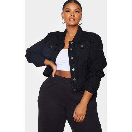 PLT Plus - Veste en jean courte - PrettyLittleThing - Modalova
