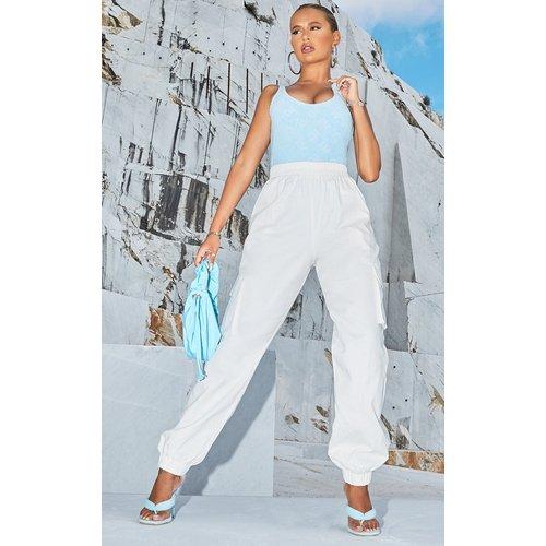 Pantalon cargo blanc, Blanc - PrettyLittleThing - Modalova