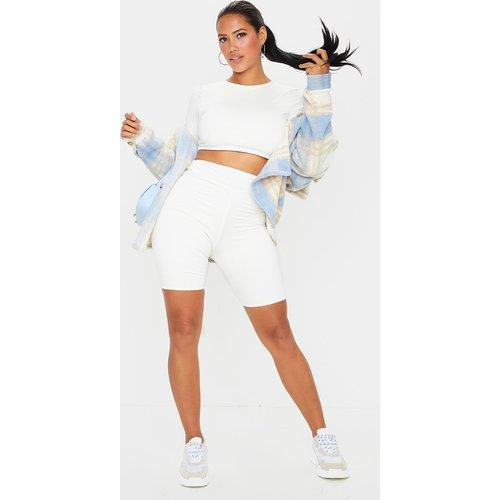 Shape - Short legging en coton à détail contrasté - PrettyLittleThing - Modalova