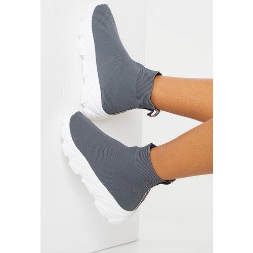 Baskets chaussettes chunky  - PrettyLittleThing - Modalova