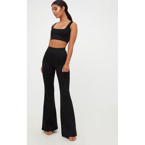 Pantalon taille haute long extrêmement évasé  - PrettyLittleThing - Modalova