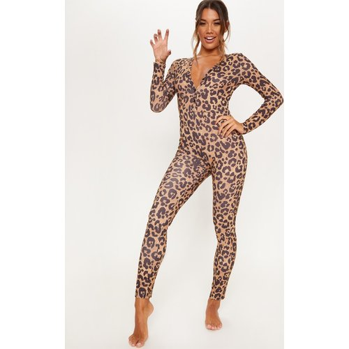 Combinaison de pyjama moulante à boutons - PrettyLittleThing - Modalova