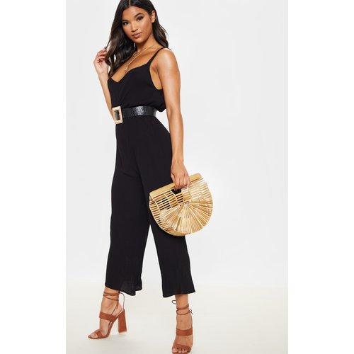 Combinaison ample tissée style jupe-culotte - PrettyLittleThing - Modalova