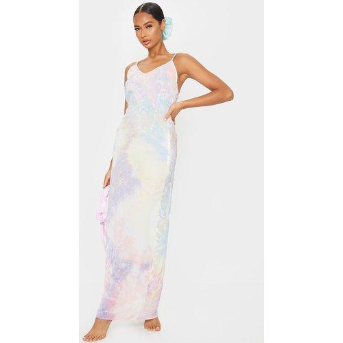 Robe de plage longue à imprimé tie & dye  - PrettyLittleThing - Modalova
