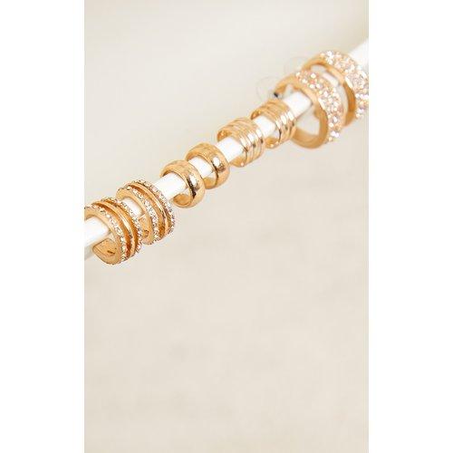 Lot de bijoux d'oreille variés - PrettyLittleThing - Modalova