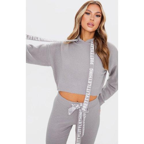 Pull court en maille tricot douce - PrettyLittleThing - Modalova