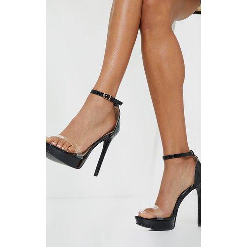 Sandales hautes à bride transparente et plateforme - PrettyLittleThing - Modalova