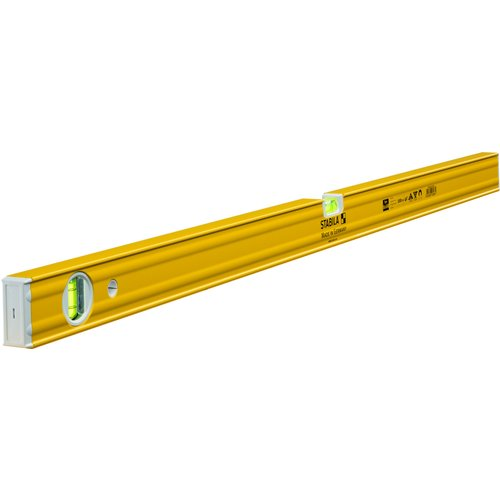 Stabila Stabila 160661 100 cmType 80 AM Spirit Level with Magnet - YellowBlack