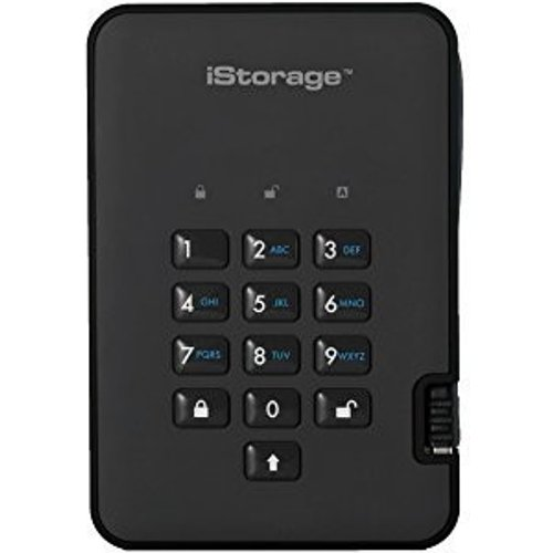 iStorage iStorage diskAshur 2-SSD 4TB black