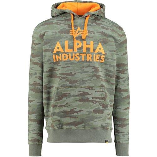 alpha industries Alpha Industries Foam Print Hoody woodl.-camo (143302-12)
