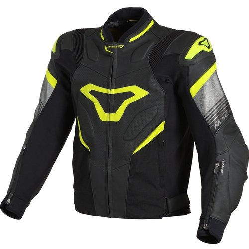 Macna Macna Ripper Jacket black/yellow