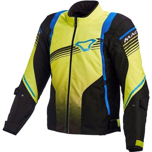 Macna Macna Charger Jacket black/yellow