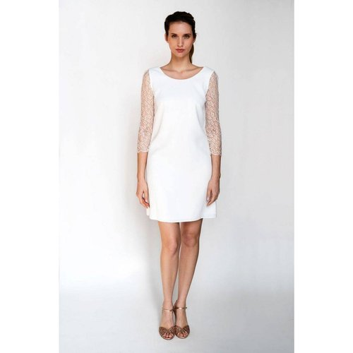 Robe de mariée MARIE DES FLEURS, made in France - HARPE - Modalova