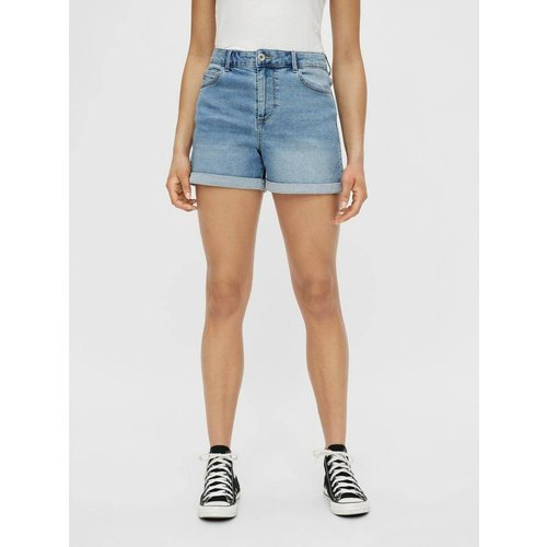 Shorts en jean Coupe ample - Pieces - Modalova