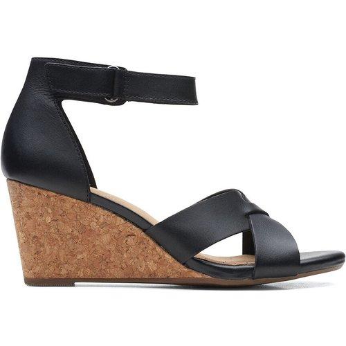 Sandales cuir compensées Margee Gracie - Clarks - Modalova
