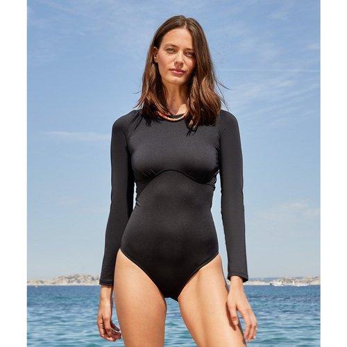 Maillot 1 pièce de surf manches longues zippé au dos SENSE - ETAM - Modalova