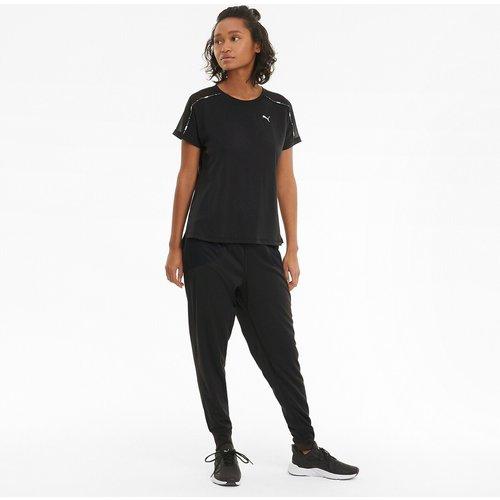 T-shirt manches courtes col rond motif devant - Puma - Modalova