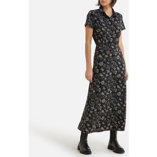 Robe droite imprimé floral, longue - IKKS - Modalova
