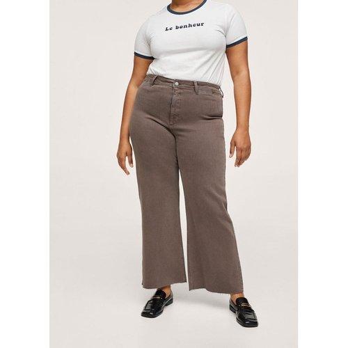 Jupe-culotte jean taille haute - Mango - Modalova