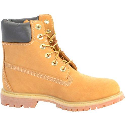 Boots Cuir AF 6IN PREM WHEAT W NB YELLOW - Timberland - Modalova