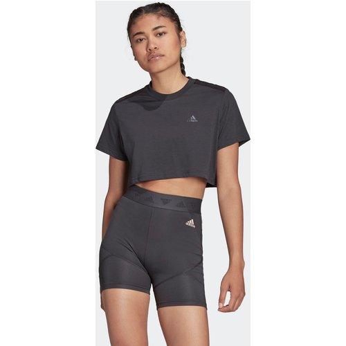 T-shirt Hyperglam Cropped - adidas performance - Modalova