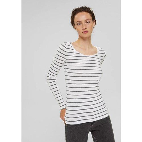 T-shirt marinière manches longues - Esprit - Modalova