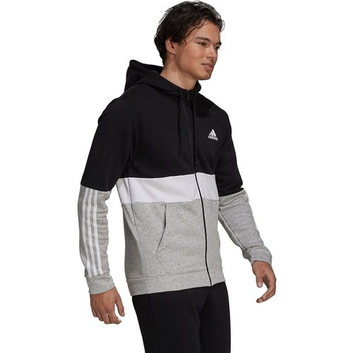 Veste zippée à capuche colorblock - adidas performance - Modalova
