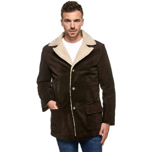 Manteau long peau de mouton - TASSA PARIS - Modalova