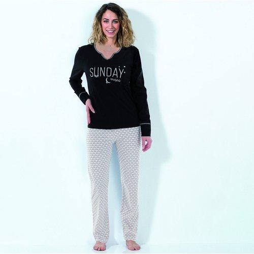 Pyjama en coton Say no - MELISSA BROWN - Modalova