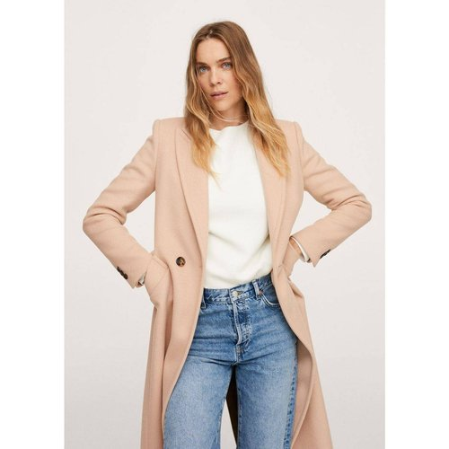 Manteau droit laine - Mango - Modalova