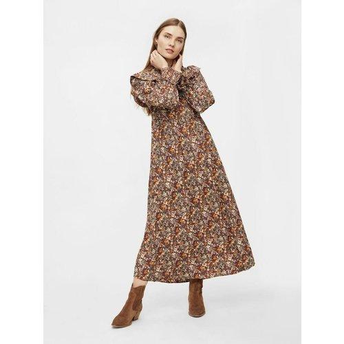 Robe longue Imprimée - Pieces - Modalova