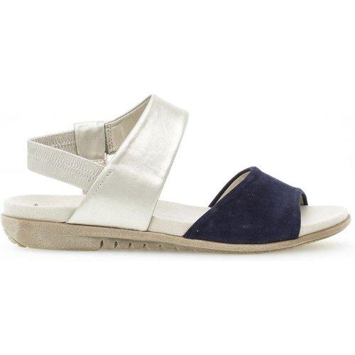 Sandales cuir talon plat - Gabor - Modalova