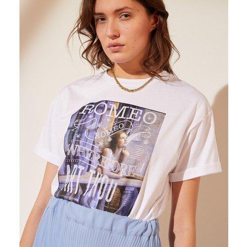 T-shirt col rond manches courtes JULIETTE - ETAM - Modalova