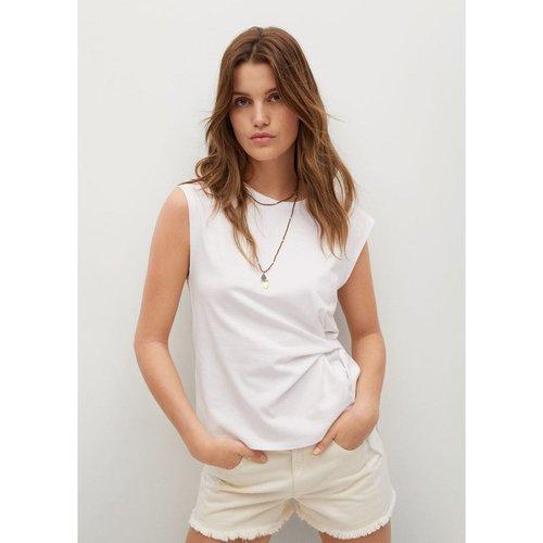 T-shirt coton recyclé noeud - Mango - Modalova