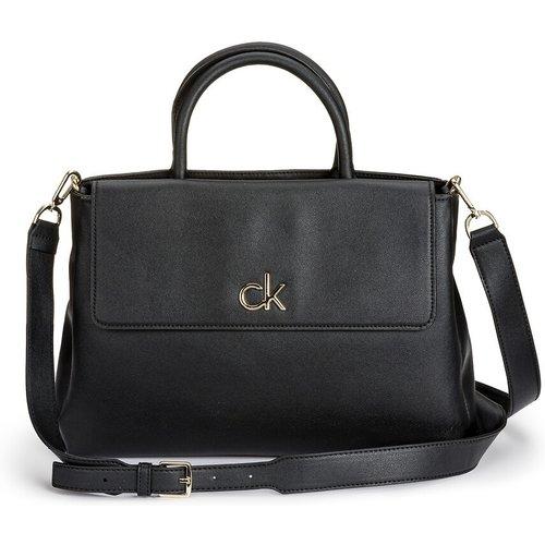 Sac à main à anse et rabat - Calvin Klein - Modalova