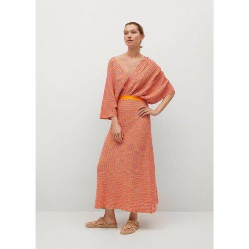 Robe combinée maille ouverture - Mango - Modalova