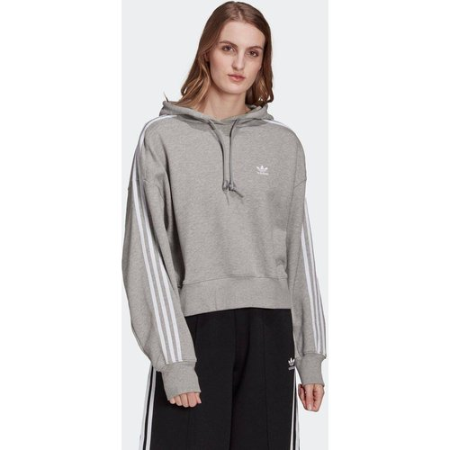 Sweat-shirt à capuche Adicolor Classics Crop - adidas Originals - Modalova